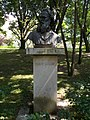 Bust of Mihály Zichy by András Kocsis, 2017 Margaret Island.jpg