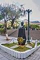 Busto de Gualberto Villarroel área exterior de la Plaza Murillo.jpg