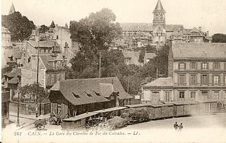 Chemins de Fer du Calvados - Caen station.