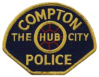 Compton Police Department (California) - Old Compton Police patch