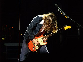 John Frusciante - Frusciante with the Red Hot Chili Peppers in 2006
