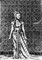COLLECTIE TROPENMUSEUM Bibi Radijah de eerste danseres van de sultan van Djogja TMnr 10004657.jpg