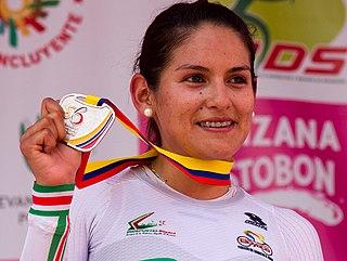 Sérika Gulumá cyclist