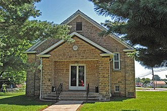 National Register of Historic Places listings in Crawford County, Missouri - Image: CUBA LODGE NO. 312 A.F. AND A.M., CRAWFORD COUNTY, MO