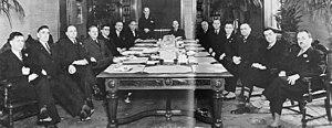 Adélard Godbout - The Godbout cabinet, November 10, 1939
