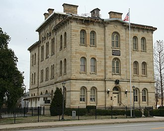 Old Custom House (Cairo, Illinois) - Image: Cairo Customhouse
