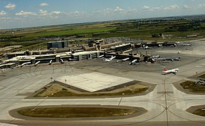 Overview of Calgary International Airport