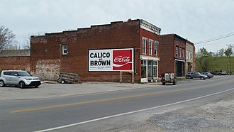 National Register of Historic Places listings in Garrard County, Kentucky - Image: Calico and Brown