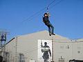 Call of Duty XP 2011 - trying the zipline (6125258987).jpg