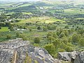 Calver Village - View From Curbar Edge - geograph.org.uk - 535324.jpg