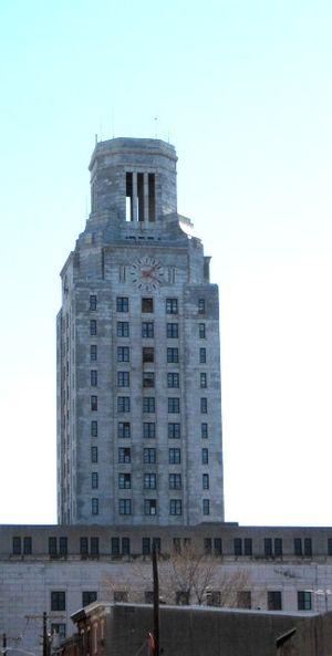 City hall of Camden, New Jersey.
