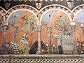 Camera della castellana di vergy, ciclo pittorico, 1350 circa 05,1.JPG