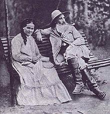 תוצאת תמונה עבור קמיל פיסארו ואשתו