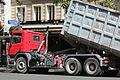 Camion Benne sur le boulevard du Montparnasse à Paris le 30 juillet 2015 - 6.jpg
