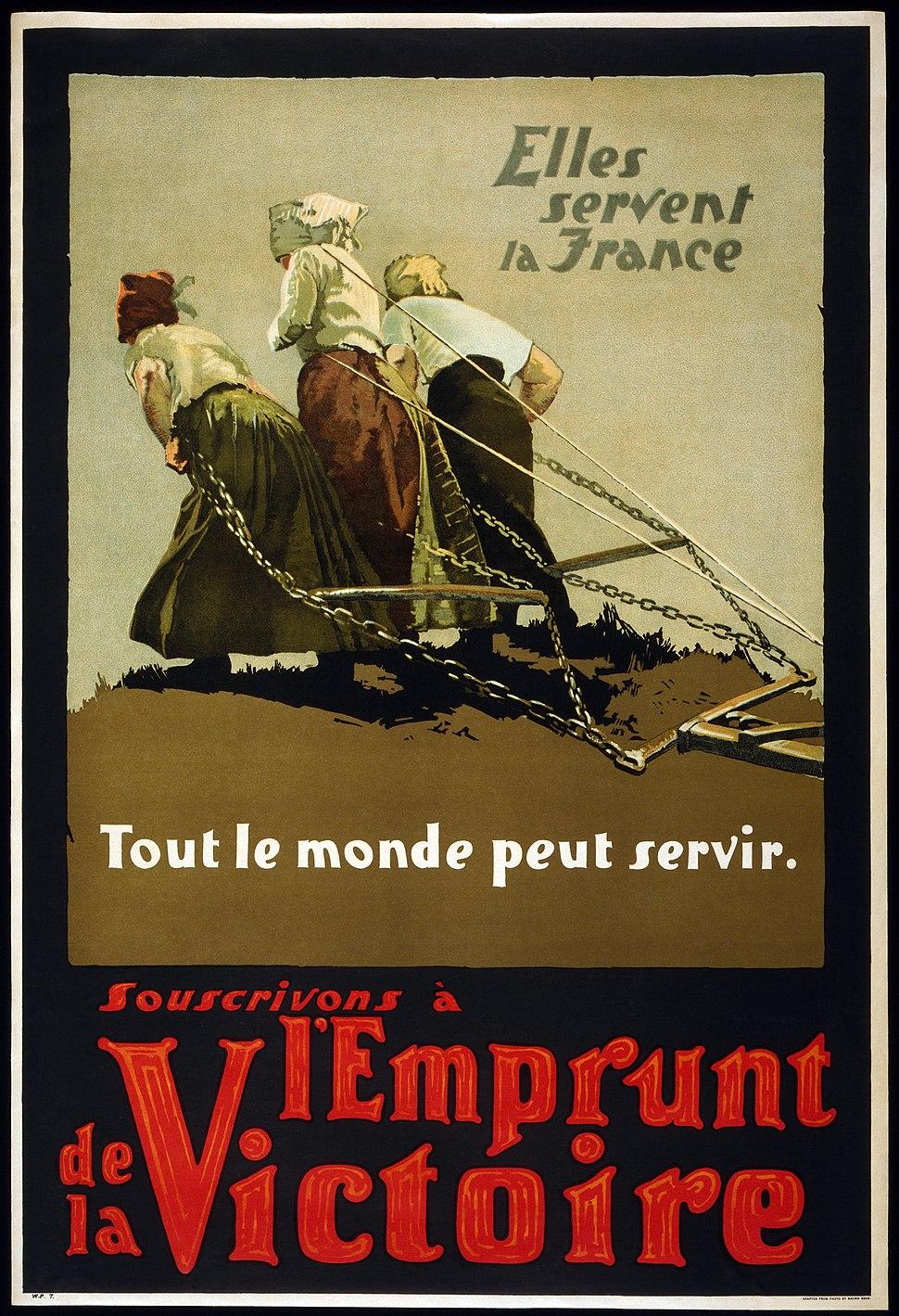 Canada WWI l'Emprunt de la Victoire2