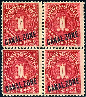 Postage stamps and postal history of the Canal Zone - Wikipedia
