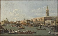 Canaletto - The Bucintoro at the Molo on Ascension Day Cat292.jpg