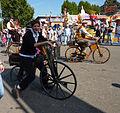 Cannstatter Volksfest 2011 historische Fahrräder.jpg