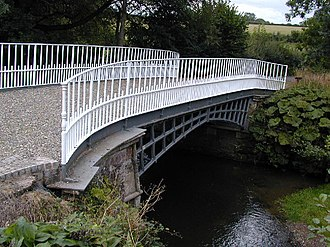 Cound Brook - Thomas Telford's Cantlop Bridge, built in 1820