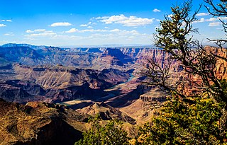 Grand Canyon Steep-sided canyon carved by the Colorado River in Arizona, United States
