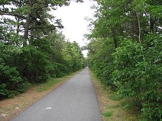 South Dennis, Massachusetts - Cape Cod Rail Trail