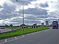 Capenhurst - M56 - A5117 roundabout - geograph.org.uk - 253869.jpg