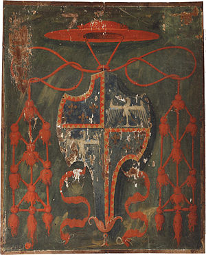 Ippolito d'Este - Coat of Arms of Cardinal Ippolito d'Este.