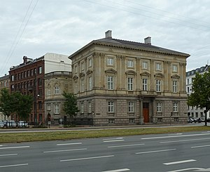 Royal Danish Academy of Sciences and Letters - The building on H.C. Andersens Boulevard.