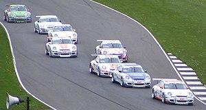 Porsche Carrera Cup Great Britain - Porsche Carrera Cup GB Race at Donington Park, 2008