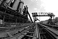 Carrie Furnaces and rail stocking trestle, Rankin PA (8908269702).jpg
