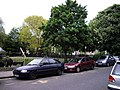 Cars parked in Clapton Square - geograph.org.uk - 1295771.jpg
