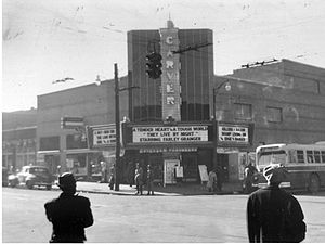Music of Alabama - The historic Carver Theatre today houses the Jazz Hall of Fame