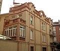 Casa Celedonio Badia Tort, façana del c. Galileu 2.jpg
