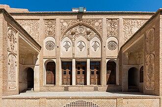 Borujerdi House - Image: Casa histórica de Boroujerdi, Kashan, Irán, 2016 09 19, DD 32