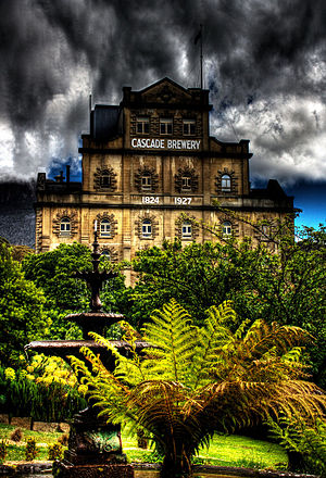 Alcohol in Australia - The oldest brewery in Australia is the Cascade Brewery in Tasmania which was established in 1824.