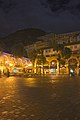 Casemates Square, Gibraltar at night 6.jpg