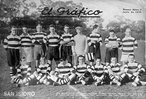 Antonio Bilbao La Vieja - The San Isidro team of 1922.