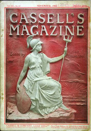 Cassell's Magazine - Cassell's Magazine cover from 1903