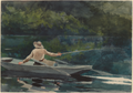 Casting, Number Two by Winslow Homer, 1894.png