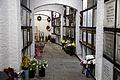 Catacomb columbarium interior - City of London Cemetery, Newham, London England 01.jpg
