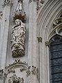 Cathédrale d'Amiens, contrefort nord, saint Firmin 2.jpg