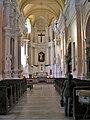 Catholic Church of St. Michael the Archangel in Navahradak (interior).JPG