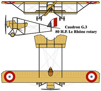 Caudron G.3 - Caudron G.3 drawing
