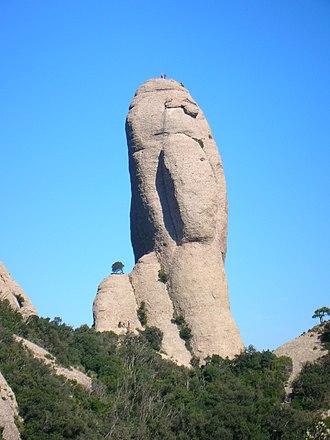 Montserrat (mountain) - Image: Cavall Bernat