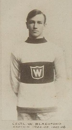 Cecil Blachford - Image: Cecil Blachford, Montreal Wanderers