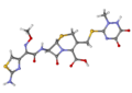 Ceftriaxone ball-and-stick.png