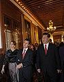 Cena de Estado que en honor del Excmo. Sr. Xi Jinping, Presidente de la República Popular China, y de su esposa, Sra. Peng Liyuan (8960388298).jpg