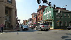 Downtown Leesburg in April 2012