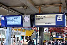 Centraal bediende treinaanwijzers in Nederland - Wikipedia