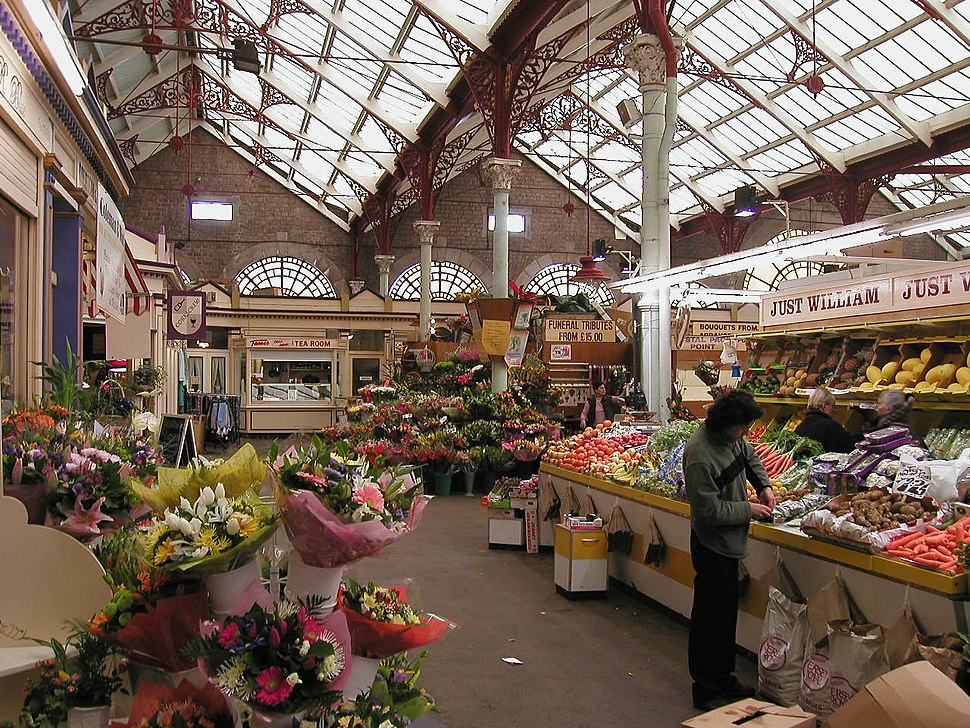 Central Market St Helier